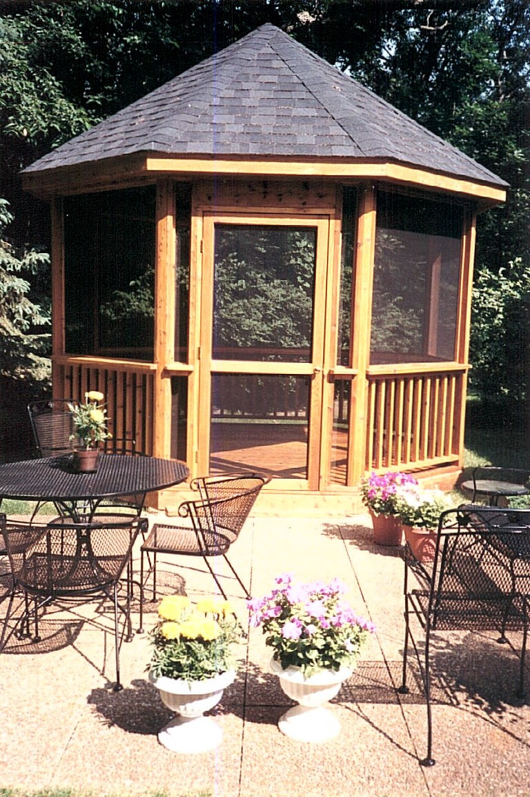 Deck gazebo pictures for Decks and gazebos