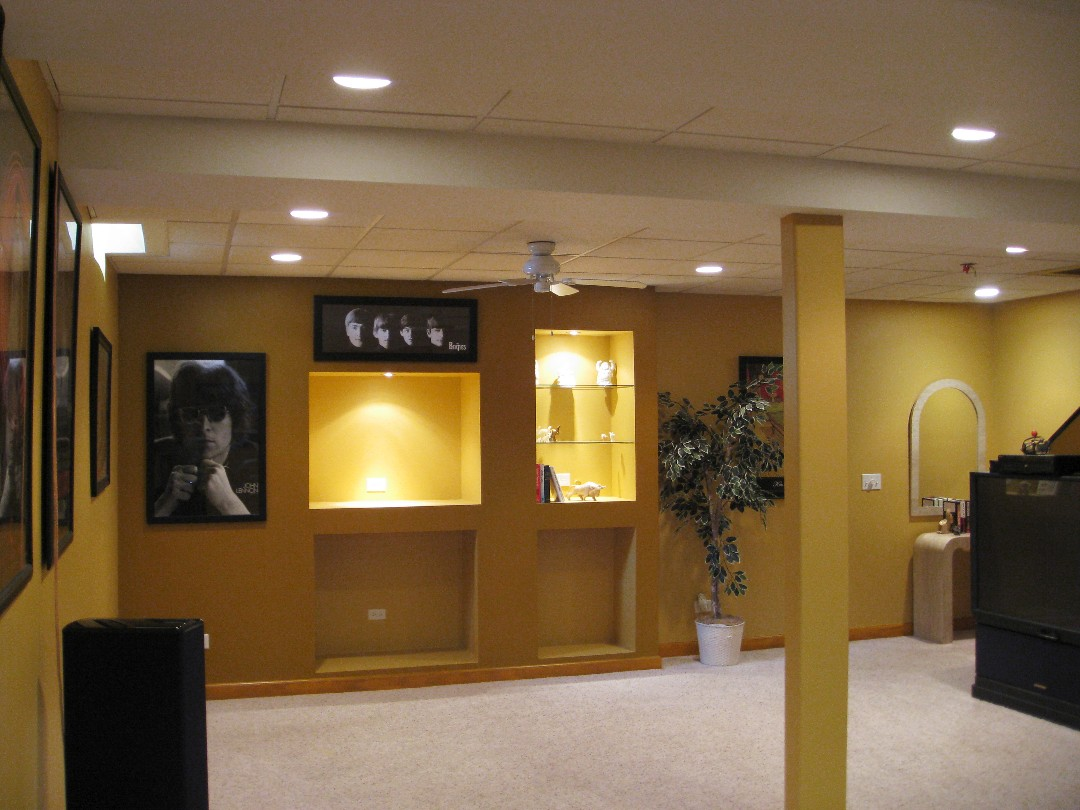 basement finishing il basement remodeling custom built